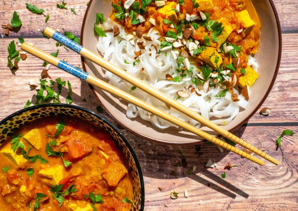 Szybkie wegańskie curry